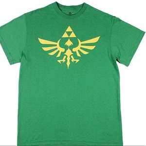 Legend of Zelda Skyward Sword Gold Foil T Shirt